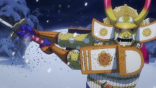 ワンピースアニメ 994話   残雪の菊の丞 お菊   ONE PIECE  Kikunojo Okiku