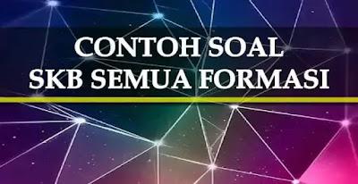 Materi dan Soal SKB CPNS Semua Formasi