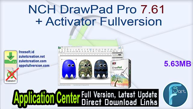NCH DrawPad Pro 7.61 + Activator Fullversion
