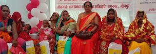 गर्भवती महिलाएं संतुलित आहार का करें उपयोग:डा.मनोज कुमार    #NayaSaberaNetwork