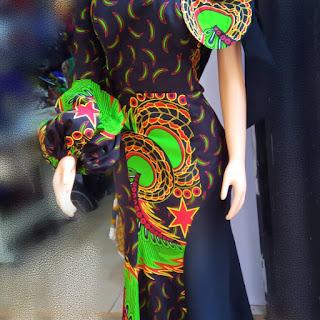 Latest Ankara Long Gown Styles 2022