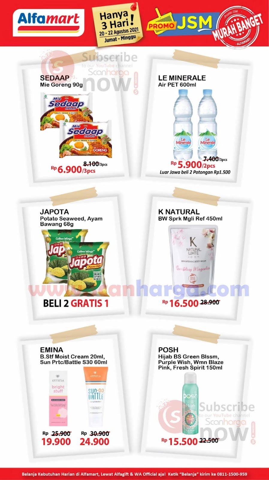 Katalog Promo JSM Alfamart Weekend 20 - 22 Agustus 2021 4