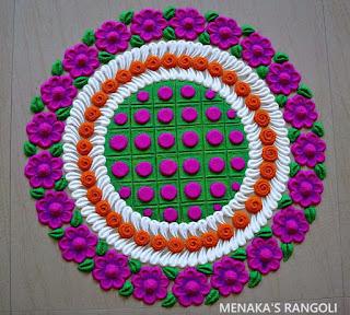 Rangoli Designs Dots
