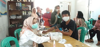 Pemerintah Desa Cihara Gelar Vaksinasi,Warga Sangat Antusias Mengikuti Vaksinasi