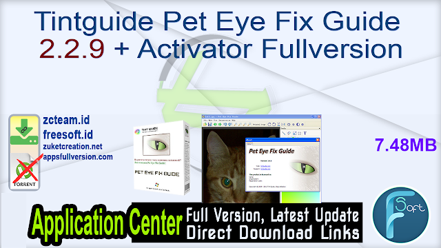 Tintguide Pet Eye Fix Guide 2.2.9 + Activator Fullversion