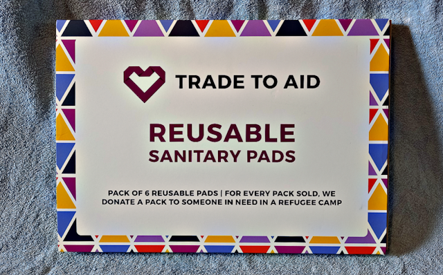 Reusable sanitary pads from Trade To Aid.