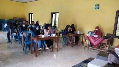 Balai Penyuluh KKBPK Kecamatan Kemiri  Gelar Penyuluhan Kespro dan  Stunting bagi Calon Pengantin