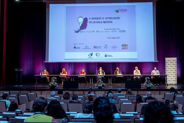 En Fuerteventura las  II Jornadas de Actualización en Lactancia están teniendo gran participación