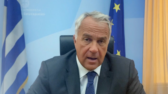 Δήλωση του Υπουργού Εσωτερικών Μάκη Βορίδη για το κολυμβητήριο Άργους (βίντεο)