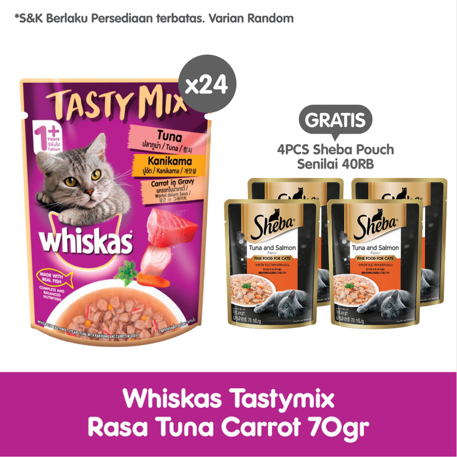 Manfaat dan Kelebihan Makanan Kucing Whiskas