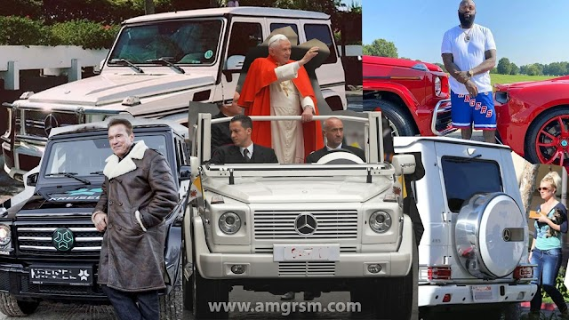 G-Wagon Celebrites Owners