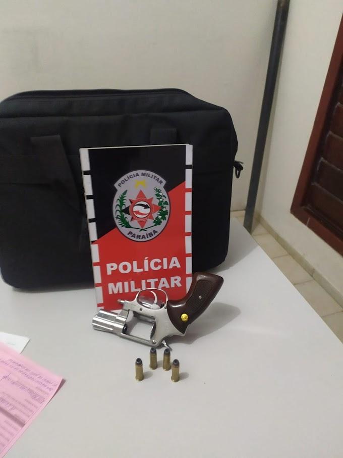 POLÍCIA MILITAR APREENDE QUATRO ARMAS DE FOGO NA CIDADE DE SOUSA NA NOITE DE ONTEM