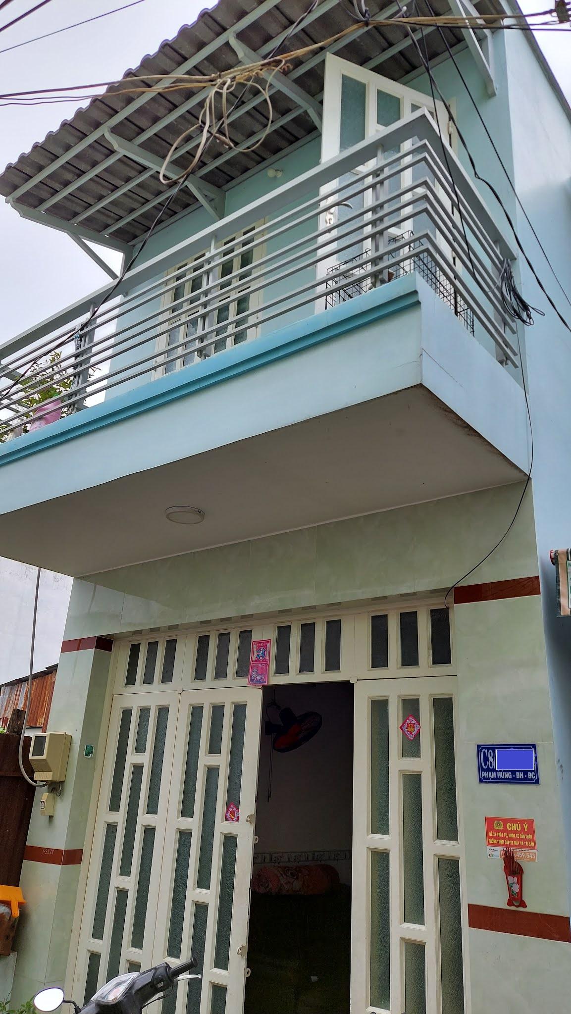 Bán nhà hẻm C8 Phạm Hùng Bình Chánh giá rẻ, gần ngã 4 Nguyễn Văn Linh
