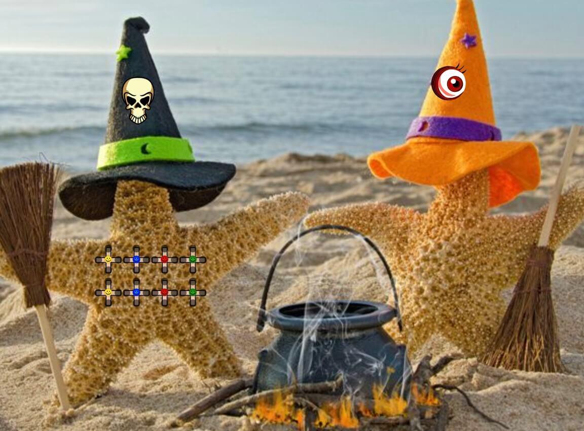 Play WowEscape Halloween Beach 17