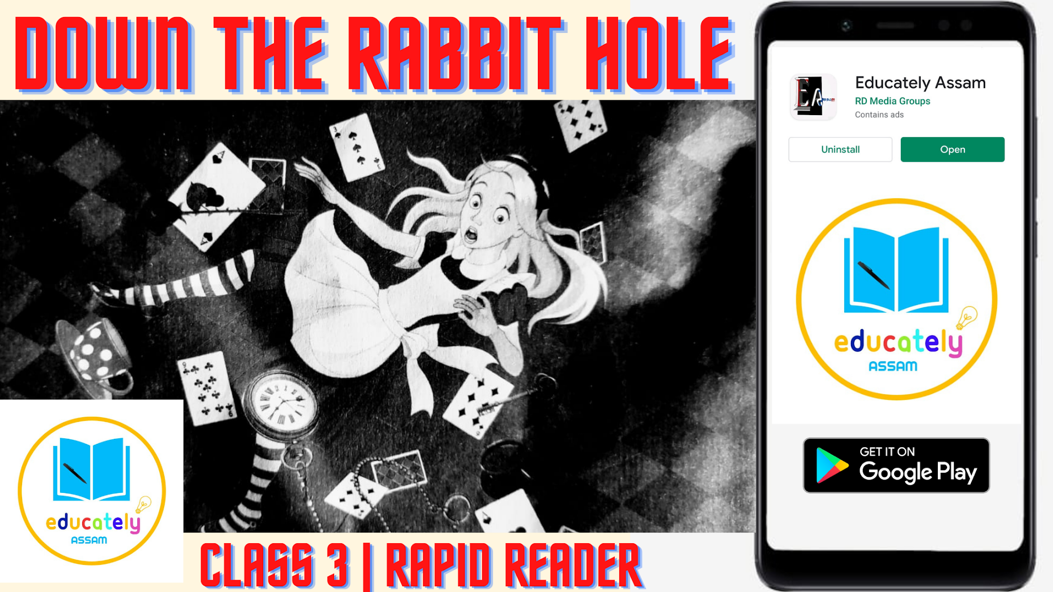 Lesson 8 | Down the rabbit hole all questions answers | Reader 3