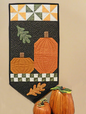 pumpkin wall hanging