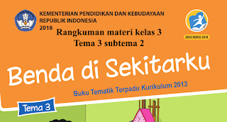 Materi kelas 3 tema 3 subtema 2