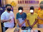 Berikan Keterangan Palsu, Dua Warga Solok Ditahan Satreskrim Polres Sijunjung