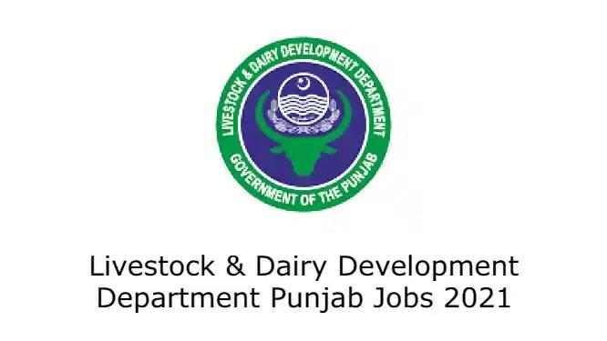Livestock & Dairy Development Department Punjab Jobs 2021