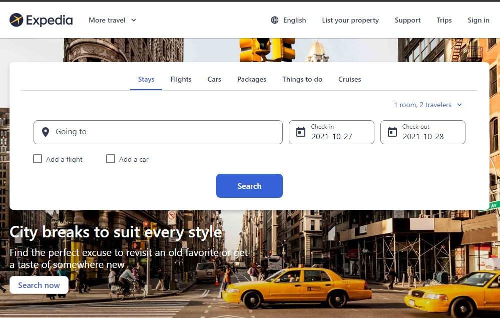 Expedia App - Best 10 Hotel Booking App In India 2021 - Techmexo.com