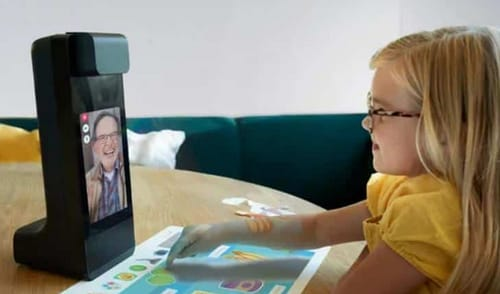 Amazon's Echo Glow lets you video chat with built-in toys to keep kids occupied