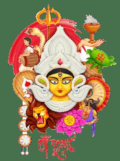Durga Ma, Durga Mata Png   দুর্গা png