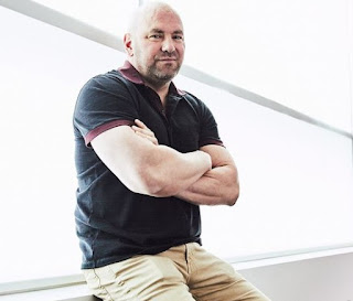 Dana White posing for a picture