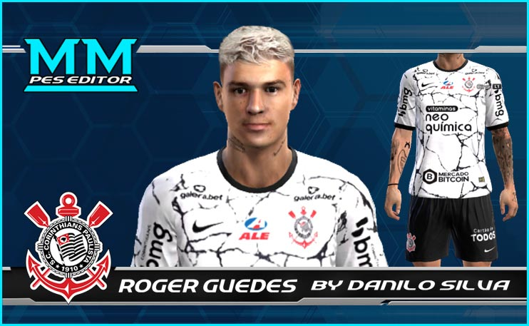 Róger Guedes Face For PES 2013