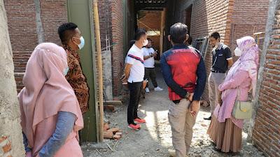 Dikes, Jaksa dan Polisi Lakukan Monev Pelaksanaan Pembangunan Fisik