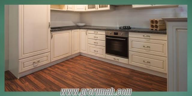 Jenis Lantai Kayu Sintetis Untuk Area Dapur - lantai spc