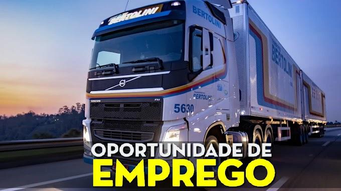 Bertolini Transportes abre vagas para motorista de Van