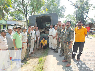 उत्तर सामान्य मंडल लामता में 28 नग चिरान एवम् 01 नग लट्ठा जप्ती की गई