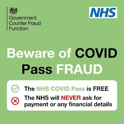 Beware of COVID Pass fraud