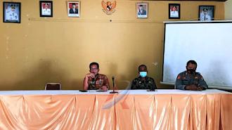 Camat Malangke Pimpin Rapat Koordinasi Mitigasi Bencana dan Covid 19