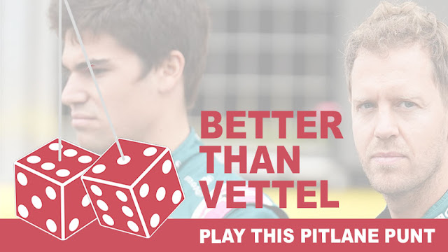Play the Better Than Vettel Pitlane Punt