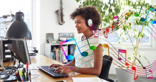 Musica para trabalhar e estudar animado, concentrado, com energia instrumental