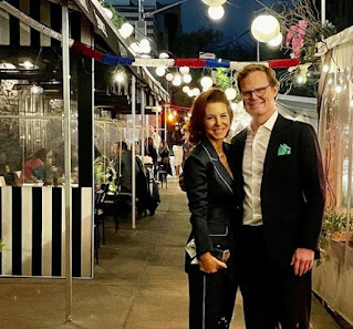 Stephanie Ruhle with her spouse Andy Hubbard