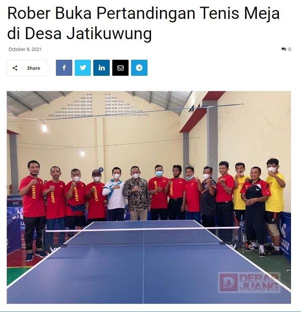 Salam Struktural Dan Kultural Tenis Meja Silavera