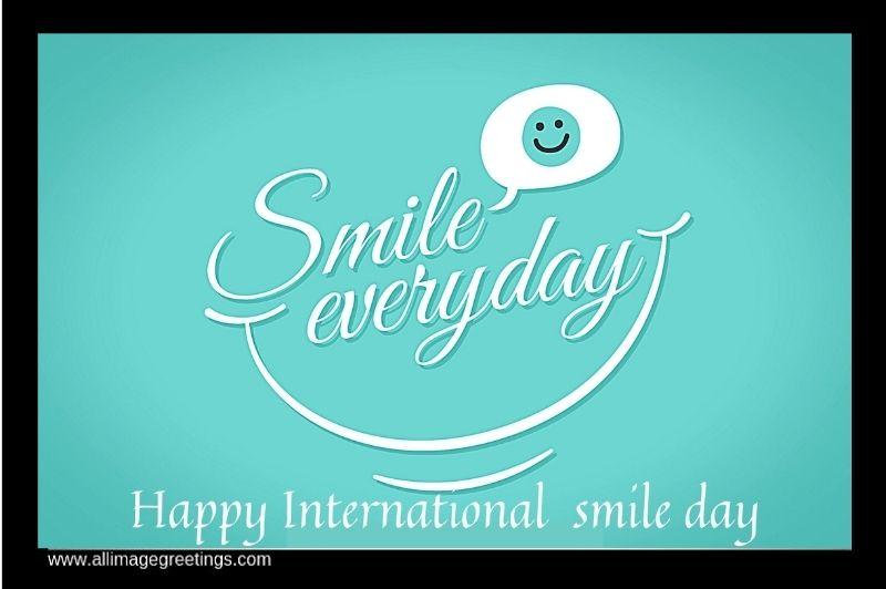 happy world smile day