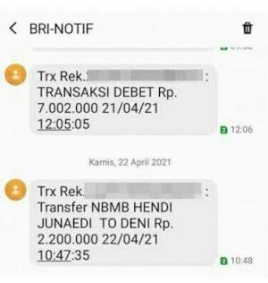 Notifikasi SMS Banking BRI Tidak Muncul, Ini Penyebeb & Solusinya!!