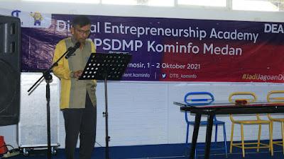 Dibuka, Bimtek Digital Entrepreneurship Academy di Samosir