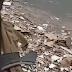 Vídeo chocante mostra motorista tentando sair de ferragens após grave acidente na estrada