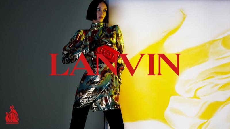 Bella Hadid stars in Lanvin fall-winter 2021 campaign
