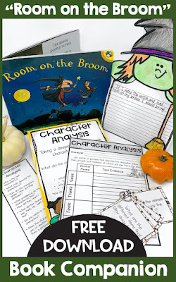 Free Halloween Guided Reading lesson