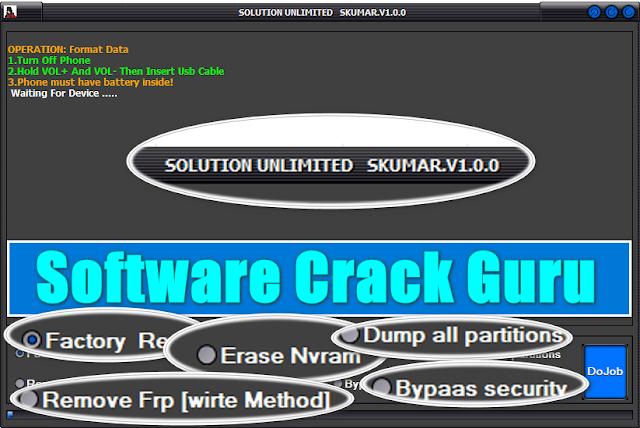 Solution Unlimited SKumar MTK Tool V1.0.0 Free Download