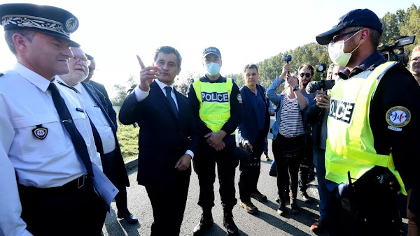"""Migrants : Gérald Darmanin réclame """"un traité sur les questions migratoires"""" entre l'UE et le Royaume-Uni"""