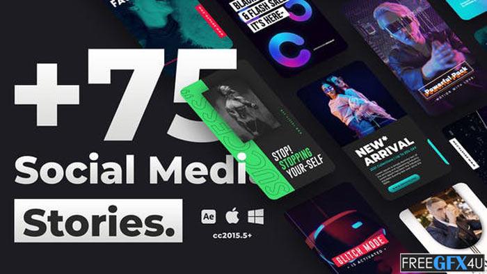 75+ Social Media Stories