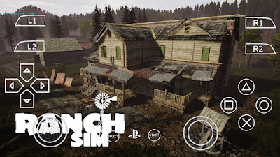 Ranch Simulator PPSSPP Zip File for Android Free Download