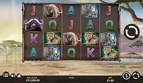 Main Gratis Slot Indonesia - Savanna Roar Yggdrasil