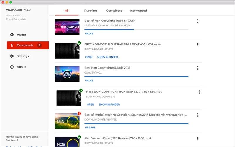 aplikasi download video youtube di android, videoder